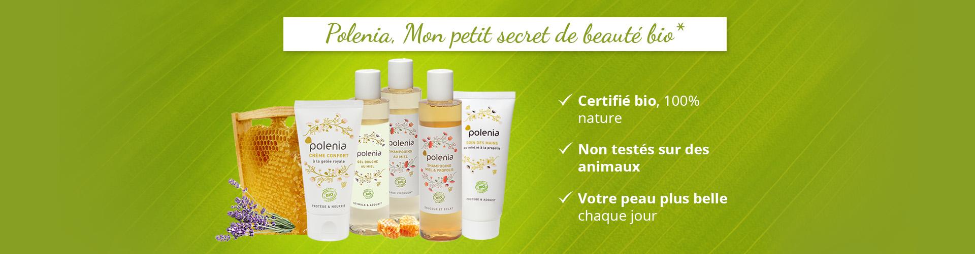 Des produits certifiés bio, aucun test effectué sur des animaux, pour que votre peau soit plus belle chaque jour.